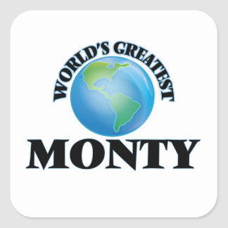 World's Greatest Monty Stickers