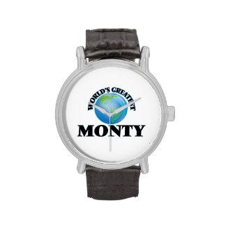 World's Greatest Monty Wristwatches