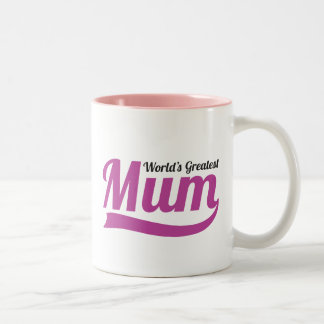 Worlds Greatest MUM, mummy mothers day mug cup