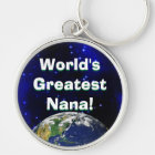 World's Greatest Nana! Keychain