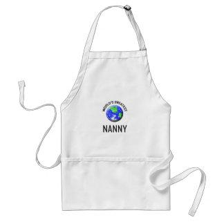 World's Greatest Nanny Standard Apron