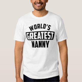 World's Greatest Nanny Tshirt