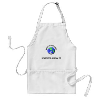 World's Greatest Newspaper Journalist Standard Apron