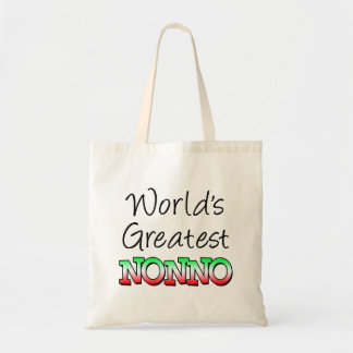 World's Greatest Nonno Italian Grandpa Tote Bag