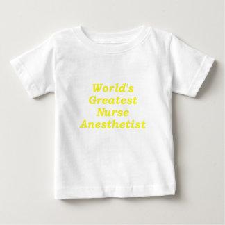 Worlds Greatest Nurse Anesthetist Baby T-Shirt