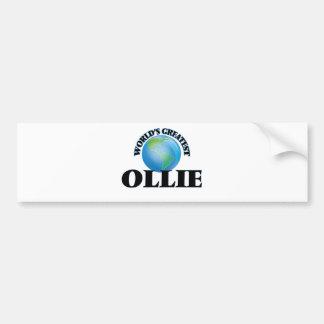 World's Greatest Ollie Bumper Sticker