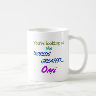 Worlds Greatest Omi Coffee Mug