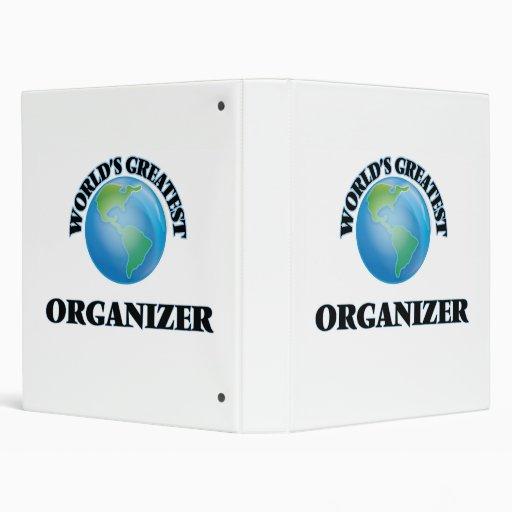 World's Greatest Organizer Binders