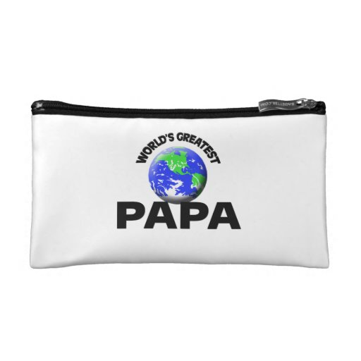 World's Greatest Papa Makeup Bags