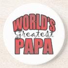 Worlds Greatest Papa Coaster