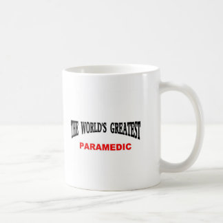 World's greatest Paramedic Classic White Coffee Mug