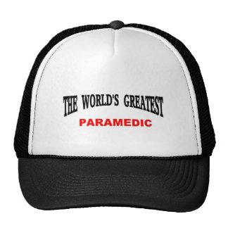 World's greatest Paramedic Trucker Hat