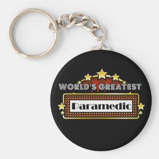 World's Greatest Paramedic Key Chain