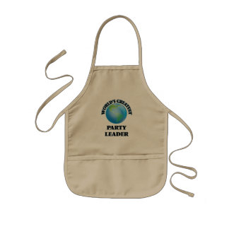 World's Greatest Party Leader Apron
