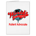 World's Greatest Patient Advocate Card