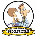 WORLDS GREATEST PEDIATRICIAN MEN CARTOON PHOTO CUTOUT