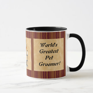 World's Greatest Pet Groomer mug