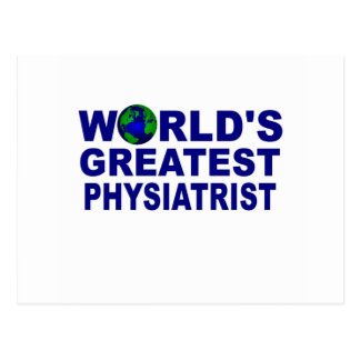 World's Greatest Physiatrist Postcard