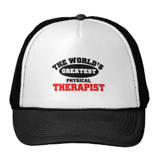 World's Greatest Physical Therapist Mesh Hats