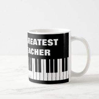 World's Greatest Piano Teacher coffee mug
