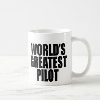World's Greatest Pilot Classic White Coffee Mug