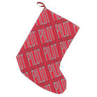 Worlds Greatest Pilot Small Christmas Stocking