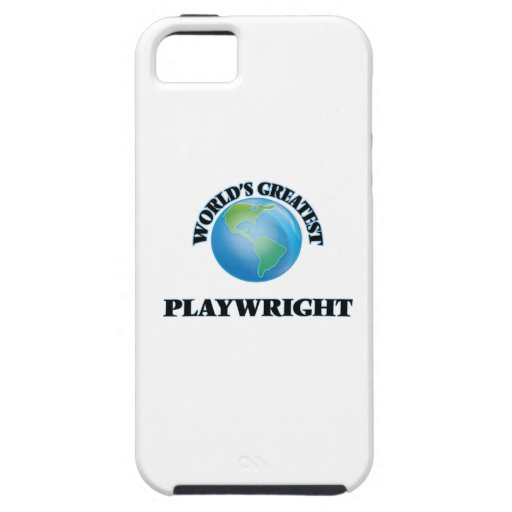 World's Greatest Playwright iPhone 5 Cases