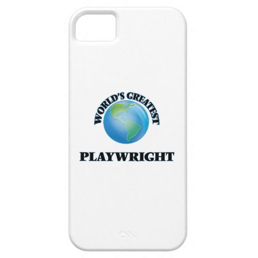 World's Greatest Playwright iPhone 5 Cover