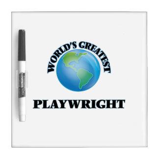 World's Greatest Playwright Dry-Erase Whiteboard