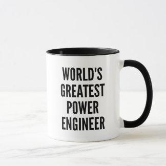 Worlds Greatest Power Engineer Mug