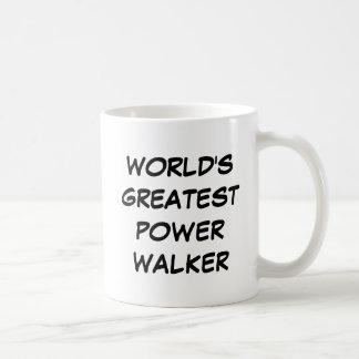 """World's Greatest Power Walker"" Mug"