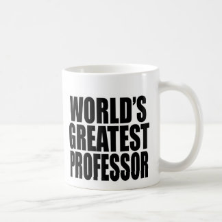 World's Greatest Professor Coffee Mug