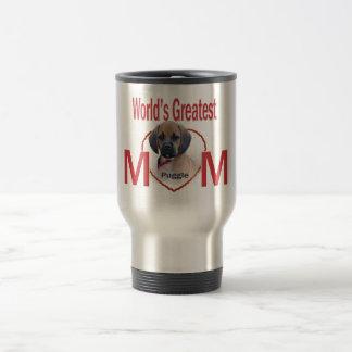 World's Greatest Puggle Mom Valentine Mug