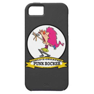 WORLDS GREATEST PUNK ROCKER GIRL CARTOON iPhone 5 CASE