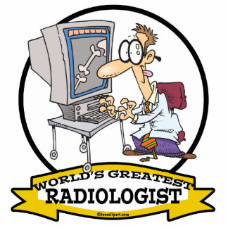 WORLDS GREATEST RADIOLOGIST MEN CARTOON CUT OUTS
