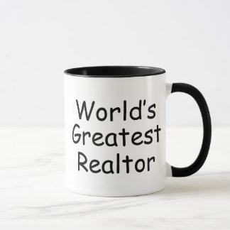 World's Greatest Realtor Mug