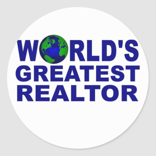 World's Greatest Realtor Stickers