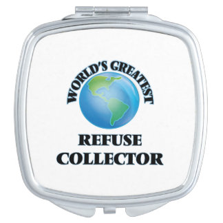 World's Greatest Refuse Collector Makeup Mirrors