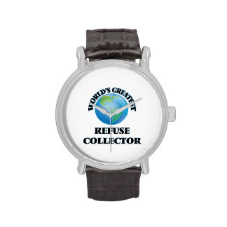 World's Greatest Refuse Collector Watch