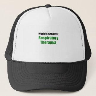 Worlds Greatest Respiratory Therapist Trucker Hat