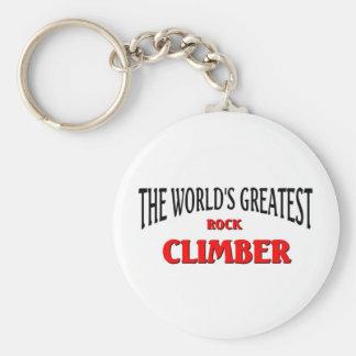 World's Greatest Rock Climber Keychain