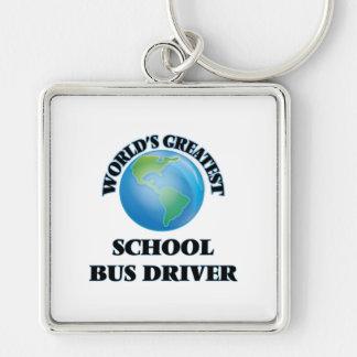World's Greatest School Bus Driver Keychain