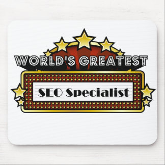 World's Greatest SEO Specialist Mouse Pad