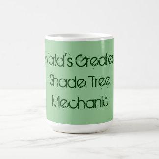 World's Greatest Shade Tree Mechanic Mug