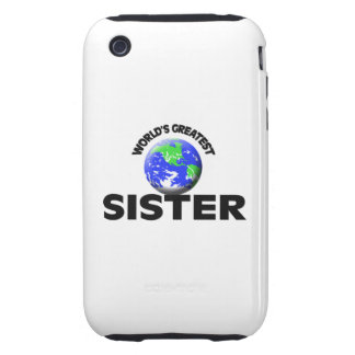 World's Greatest Sister Tough iPhone 3 Cover