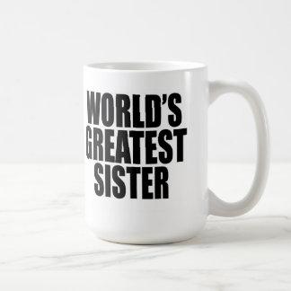 World's Greatest Sister Coffee Mug