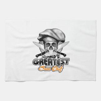 World's Greatest Sous Chef v6 Kitchen Towel