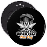World's Greatest Sous Chef v7 6 Inch Round Button