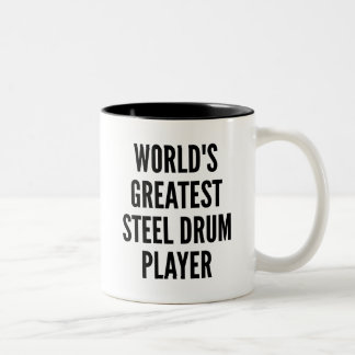 Worlds Greatest Steel Drum Player Two-Tone Coffee Mug