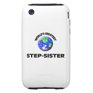 World's Greatest Step-Sister Tough iPhone 3 Case